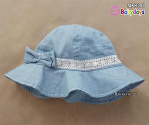 Mũ thời trang rộng vành trẻ em MXK098