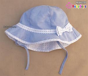 Mũ thời trang rộng vành trẻ em MXK099