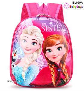 Balo mẫu giáo công chúa Elsa BL059A