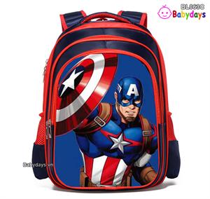 Balo siêu nhân Captain America cho bé BL063C