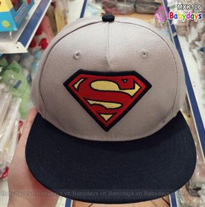 Nón kết siêu nhân Superman cho bé trai MXK106