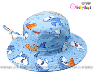 Mũ vải cho bé trai MTB09
