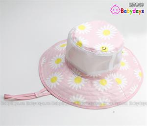Mũ vải cho bé gái MTB13