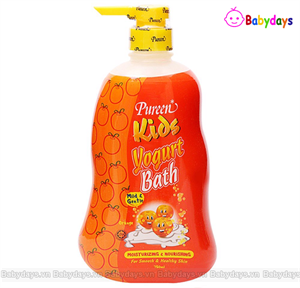 Sữa tắm gội trẻ em Pureen 750ml hương cam