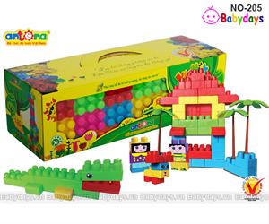 Đồ chơi lắp ráp lego antona NO-205