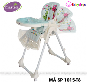 Ghế tập ăn cho bé mastela 1015-T8