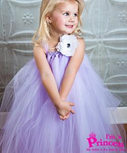 Đầm công chúa hàng hiệu cho bé gái Princess_PR07