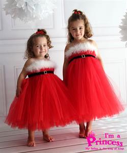 Đầm công chúa giáng sinh cho bé Princess_PR96