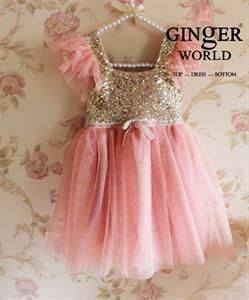 Đầm công chúa MERCY PD327 GINgER WORLD