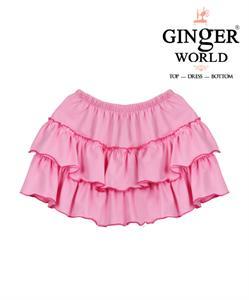Váy hồng 3 tầng cho bé xinh CS0003 GINgER WORLD