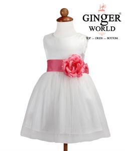 Đầm dự tiệc Hoa Xuân HQ436_HD GINgER WORLD