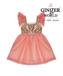 Đầm dự tiệc cho bé HQ451 GINgER WORLD