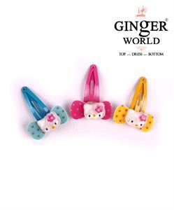 Kẹp tóc xinh cho bé làm điệu KT002 GINgER WORLD