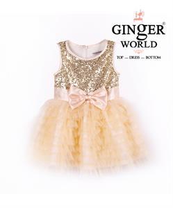 Đầm dự tiệc cho bé yêu Popolop HQ400 GINgER WORLD