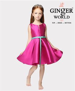 Đầm dạ hội Nữ Thần Eos ( Bình minh hồng ) HQ456 GINgER WORLD