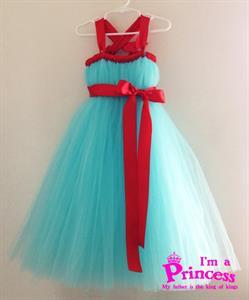 Đầm công chúa Ruri ( viên ngọc bích ) Princess_PR120