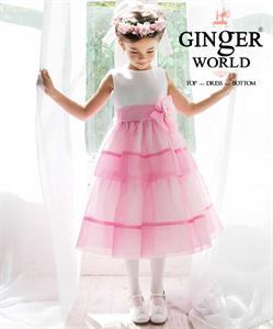 Đầm dạ hội Pink lady sun ( tiểu thư nắng hồng ) HQ463_H GINgER WORLD