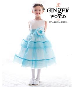 Đầm dạ hội lady blue ocean ( cô gái đại dương ) HQ463_X GINgER WORLD