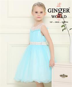 Đầm dạ hội nữ thần Nereid ( suối tóc đại dương xanh ) HQ465_X GINgER WORLD