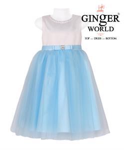 Đầm dự tiệc Đại Dương Xanh HQ475 GINgER WORLD