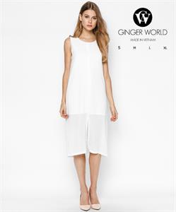 Đầm Xẻ Tà GWD0015