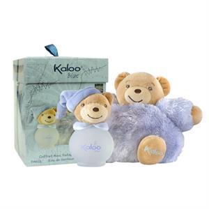 1715_100ML Nước Hoa Cho Bé Trai KALOO Blue không chứa cồn và Gấu Bông MAXI FLUFFY EDS 17cm