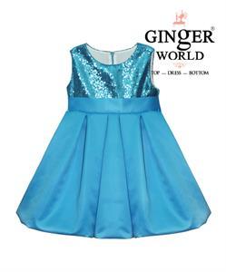 Đầm dự tiệc Bí Ngô đáng yêu cho bé HQ380_X GINgER WORLD