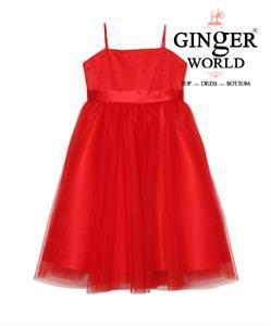 Đầm 2 Dây Hoa Xuân Nhí HQ504 GINgER WORLD