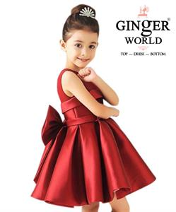 Đầm Dự Tiệc Cho Bé Beautiful Dress HQ506_D GINgER WORLD