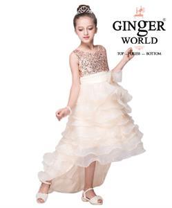 Đầm Công Chúa Nữ Hoàng Nhí HQ507_TK GINgER WORLD