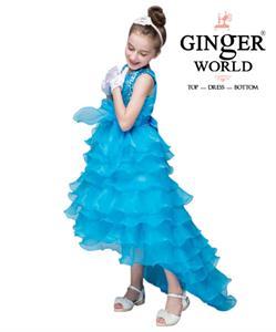 Đầm Công Chúa Nữ Hoàng Nhí HQ507_X GINgER WORLD