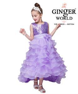 Đầm Công Chúa Nữ Hoàng Nhí HQ507_TM GINgER WORLD