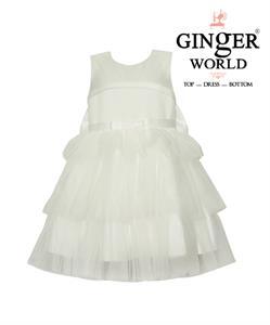 Đầm Dự Tiệc Xinh Xinh Ba Tầng HQ509_T GINgER WORLD