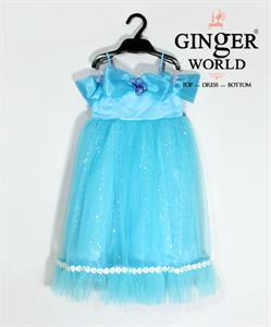 Đầm Công Chúa Lọ Lem Cinderela HQ540 GINgER WORLD