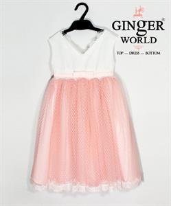 Đầm Dự Tiệc Cho Bé HQ547 GINgER WORLD