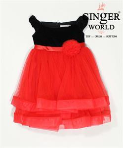 Đầm Dự Tiệc Cho Bé HQ560 GINgER WORLD