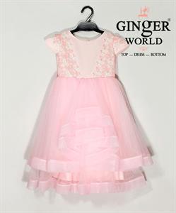 Đầm Dự Tiệc Cho Bé HQ561 GINgER WORLD