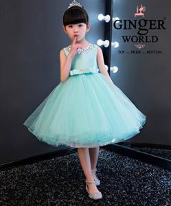 Đầm Dự Tiệc Cho Bé HQ577 GINgER WORLD
