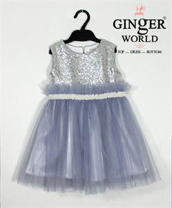 Đầm Dự Tiệc Cho Bé HQ590 GINgER WORLD