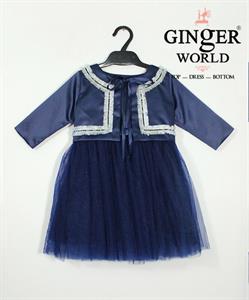 Đầm Dự Tiệc Cho Bé HQ592 GINgER WORLD