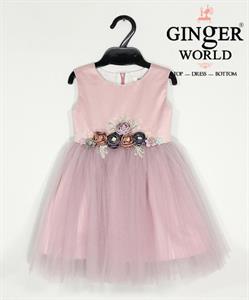 Đầm Dự Tiệc Cho Bé HQ596 GINgER WORLD
