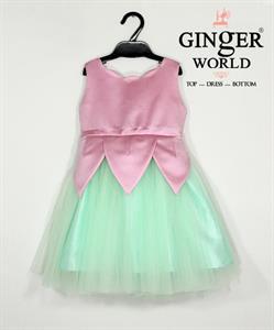 Đầm Dự Tiệc Cho Bé HQ600 GINgER WORLD