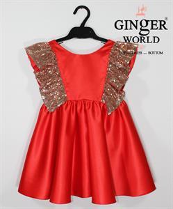 Đầm Dự Tiệc Cho Bé HQ607 GINgER WORLD