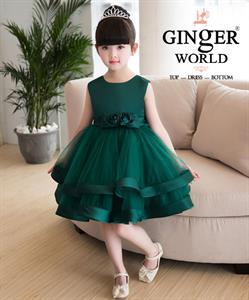 Đầm Dự Tiệc Cho Bé HQ521A GINgER WORLD