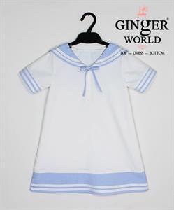 Đầm Tinh Nghịch Thủy Thủ Cho Bé SC102 GINgER WORLD