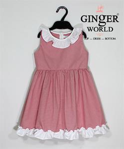 Đầm Tinh Nghịch Cho Bé SC107 GINgER WORLD