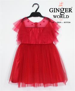 Đầm Dự Tiệc Cho Bé HQ620 GINgER WORLD