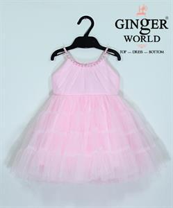 Đầm Dự Tiệc Cho Bé HQ623 GINgER WORLD