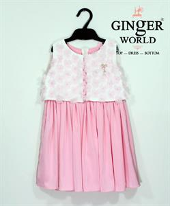 Đầm Tinh Nghịch Cho Bé SC113 GINgER WORLD