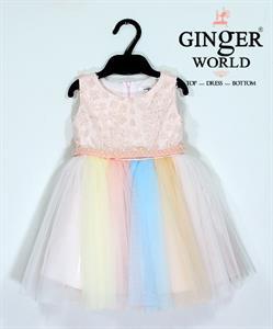 Đầm Dự Tiệc Cho Bé HQ624 GINgER WORLD